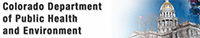 Colorado Dept of Public Health and Environment Logo