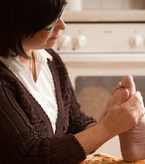 Testimonial from a foot care nurse