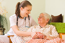 Caring for patients at their home