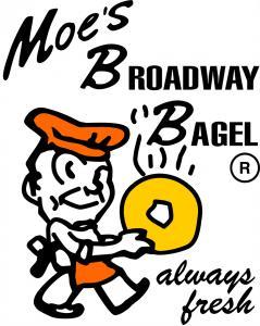 Moes Broadway Bagel logo